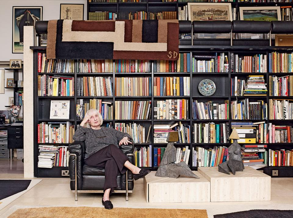 Ruth Artmonsky at home