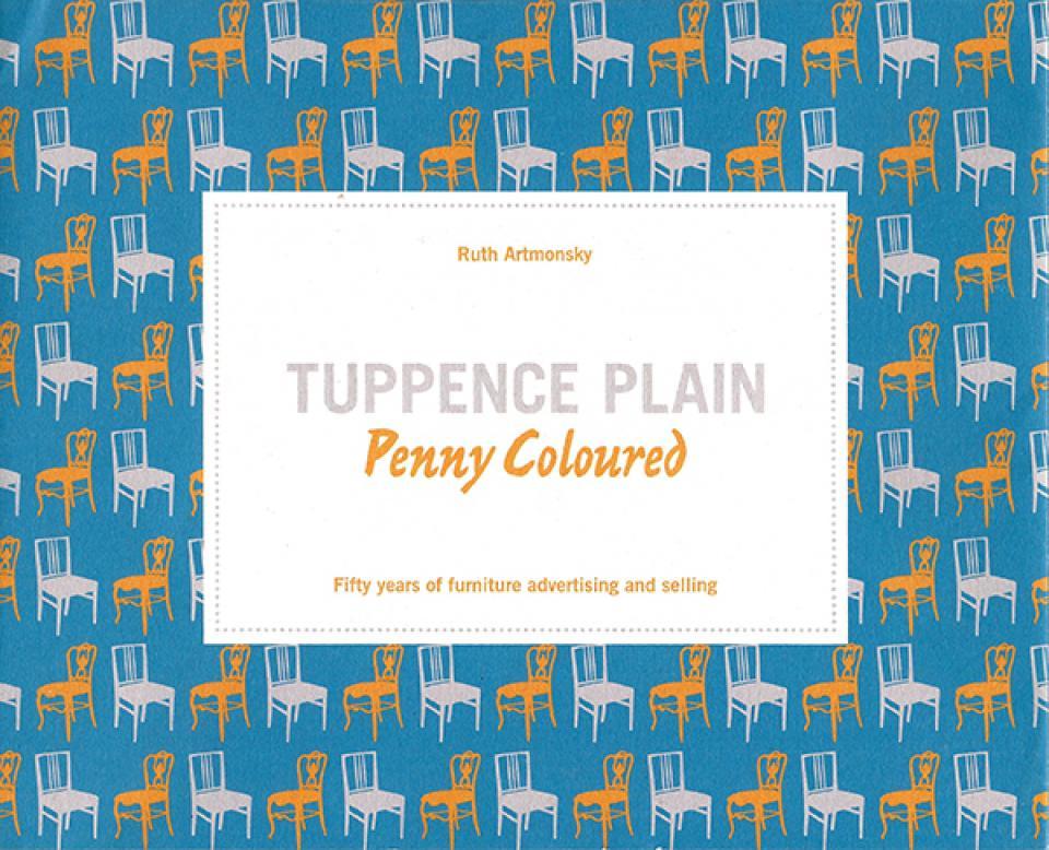Tuppence Plain Penny Coloured