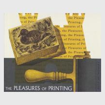 The Pleasures of Printing by Ruth Artmonsky
